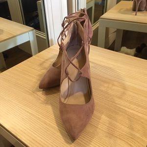 Marc Fisher Blush strappy heels